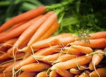 La carotte star des 1ères cuillères de bébé !