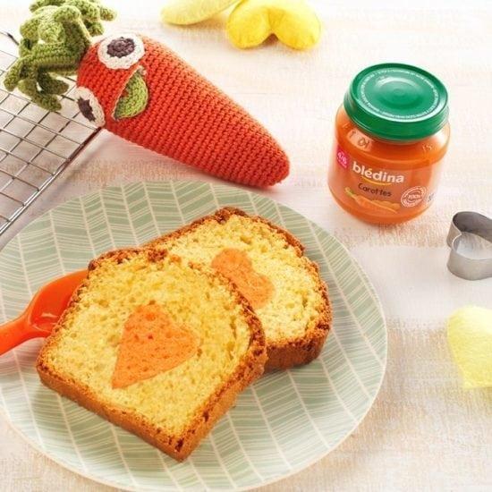Le Cake Parmesan Carottes