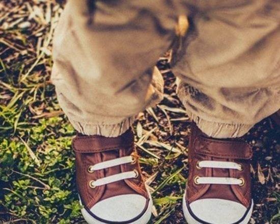 Ses premières chaussures