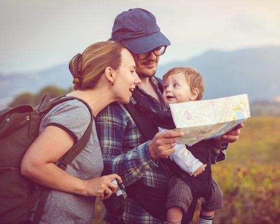 Voyager avec un bébé de moins de 1 an