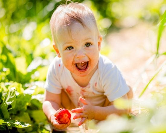 L'alimentation d'un enfant entre 12 et 18 mois