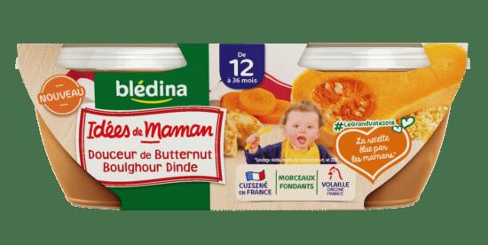 Idées de maman butternut boulghour et dinde
