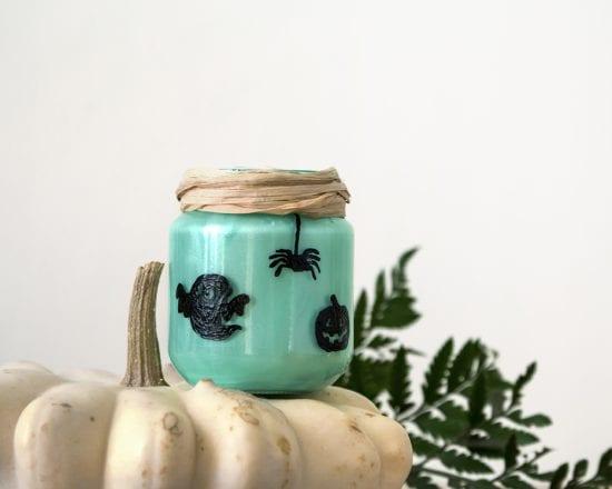 DIY Bougeoir Halloween - Blédina - finish