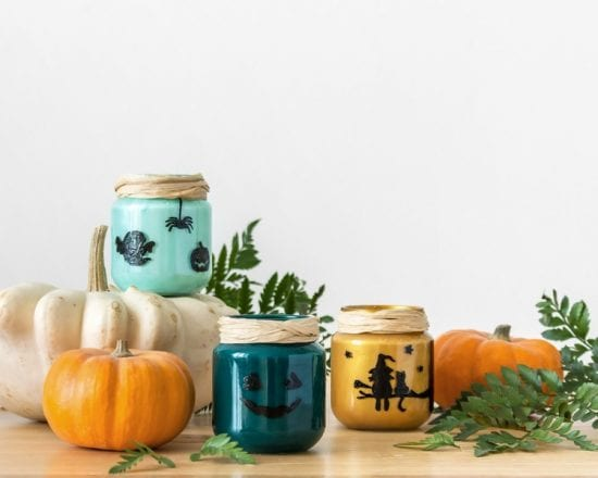 DIY Halloween : le bougeoir