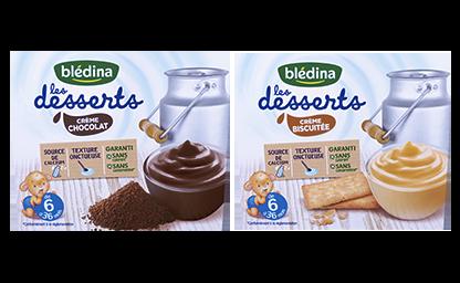 Les Crèmes Desserts