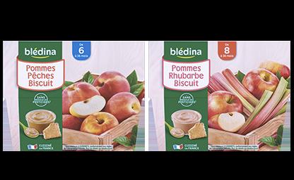 Les Purées de Fruits Biscuitées
