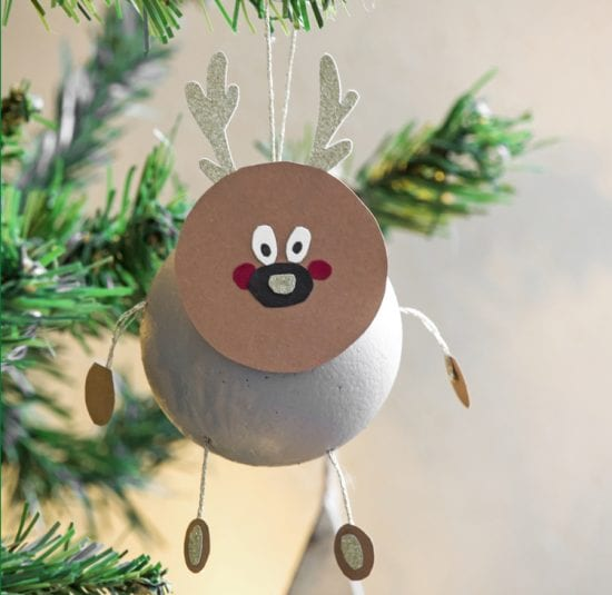 Diy Boule De Noel.Diy La Boule De Noël Personnage Blédina