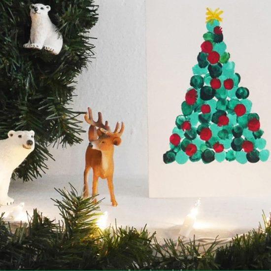 Carte de vœux DIY de Noël