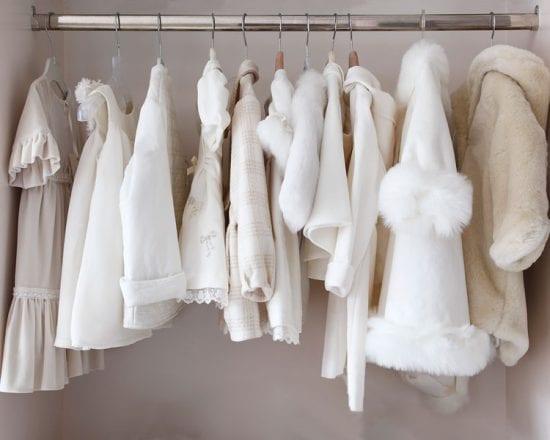 La garde-robe de bébé de 0 à 3 mois