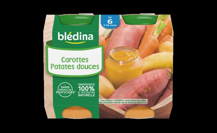 Recette oeuf Mimosa avec carotte et patate douce : recette pour bébé de 12 mois