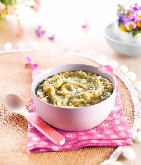 Printanière de légumes et filet de cabillaud