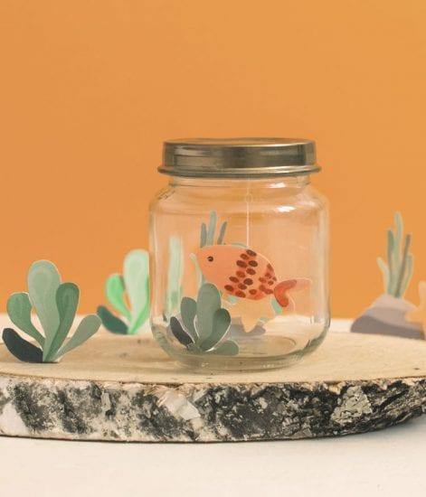 Petit poisson d'Avril et son Aquarium !