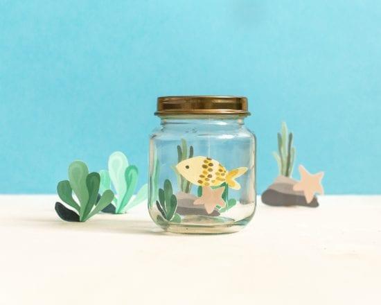 DIY déco chambre bébé et enfant : aquarium - Etape 4
