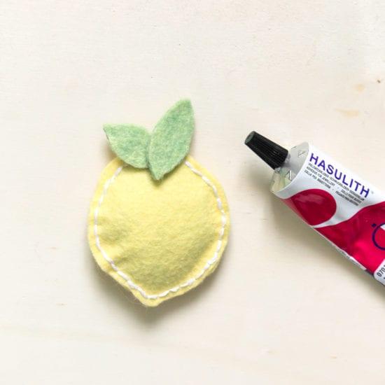 Fruit aimanté Diy étape 5