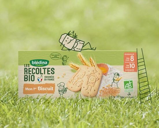Les biscuits bébé bio Blédina : en route vers l'autonomie !