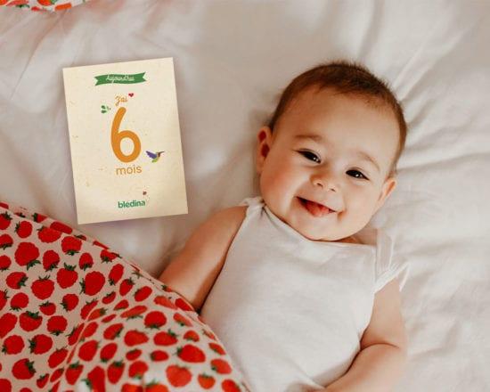 Immortalisez les progrès de bébé grâce à nos cartes étapes !