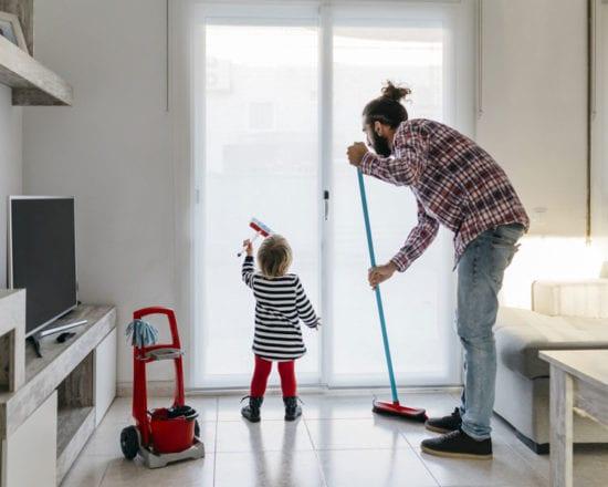 Favoriser un environnement propre pour la famille