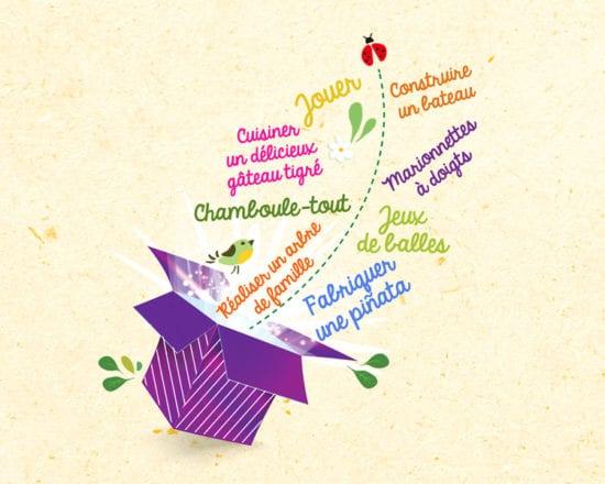 La boîte d'activités des petits curieux - 6ème édition