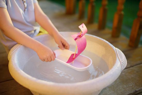activites enfants maison bateau flotte