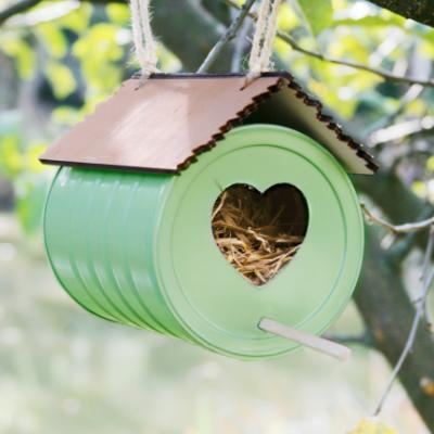 DIY le nichoir a oiseaux resultat