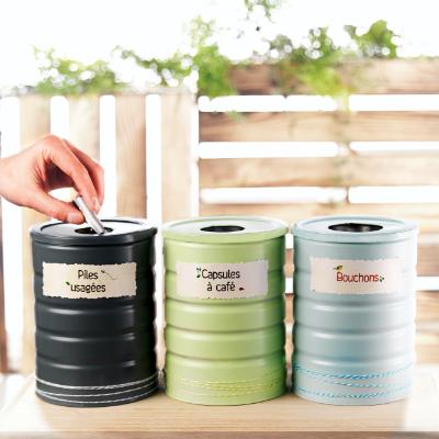 DIY boites de recyclage resultat