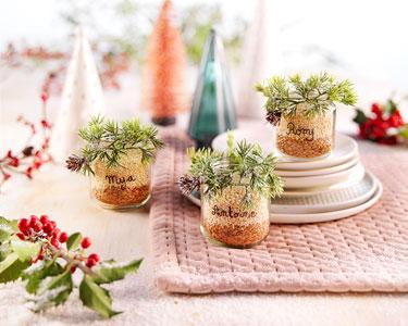 Le DIY : Marque-places de Noël !