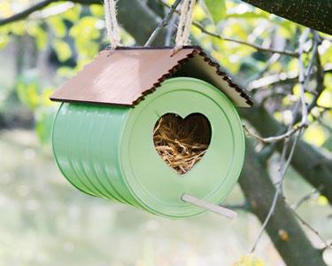Le DIY: le nichoir à oiseaux