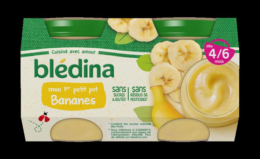 150 g de Pots Fruits Bananes