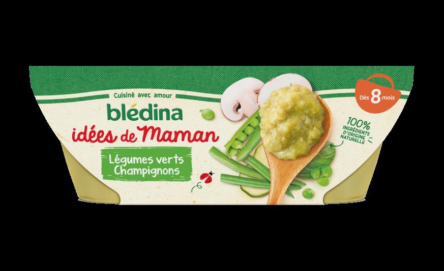 Idées de maman Légumes verts Champignons