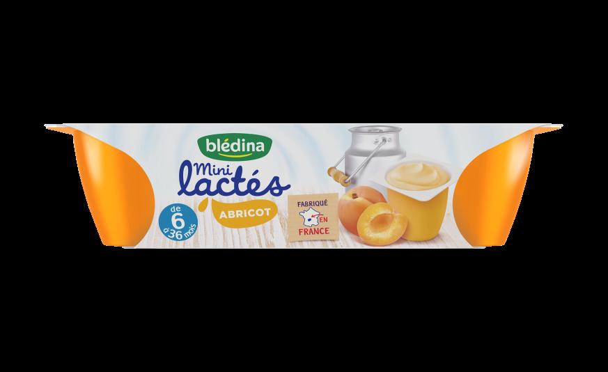 1 pot de  Mini Lactés Abricot