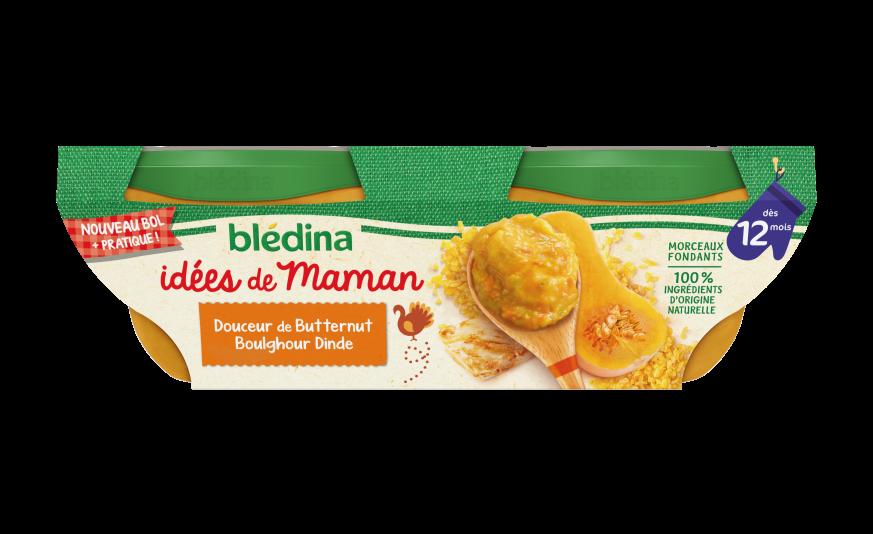 Idées de maman Douceur de butternut boulghour et dinde
