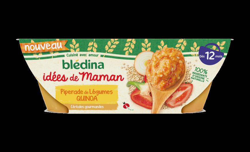 Idées de maman Piperade de légumes quinoa
