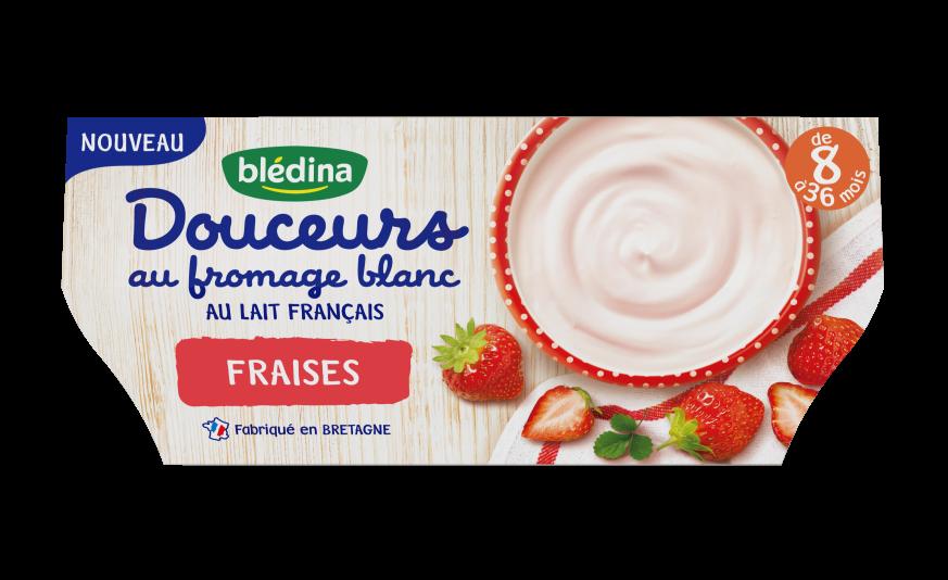1 pot  Les Douceurs au fromage blanc Fraise