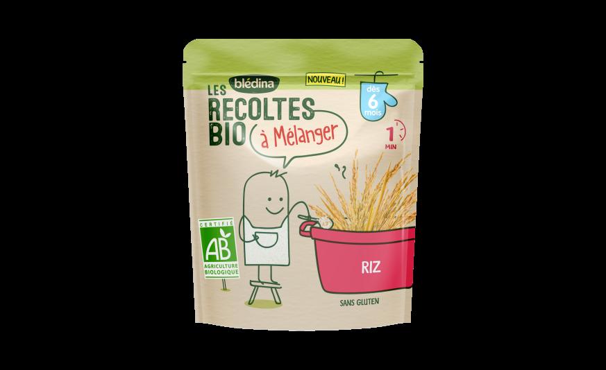 3 c. à c. Les Récoltes Bio à mélanger Riz