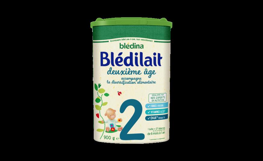 60 ml Blédilait 2ème âge 900 g