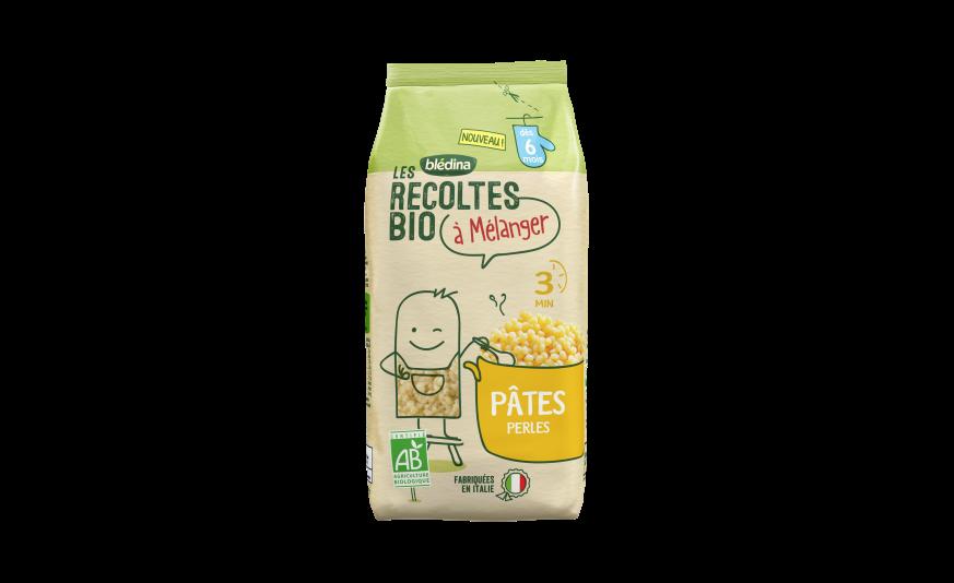 2 c. à s. Les Récoltes Bio à mélanger Pâtes Perles