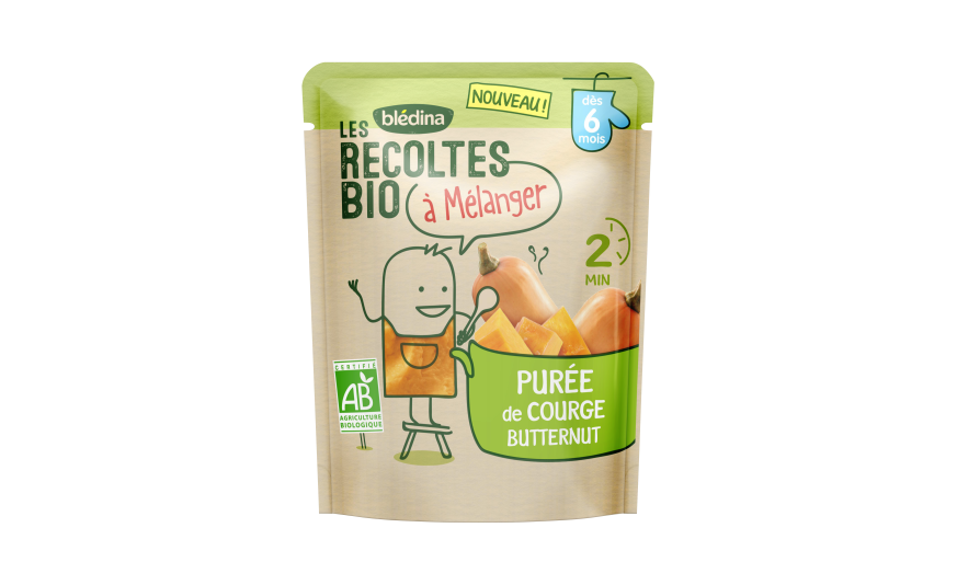 1 sachet Les Récoltes Bio à mélanger Purée Carotte Topinambour