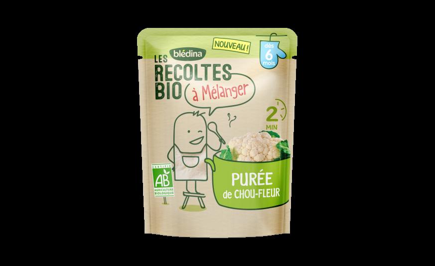 1 sachet Les Récoltes Bio à mélanger Purée de chou fleur