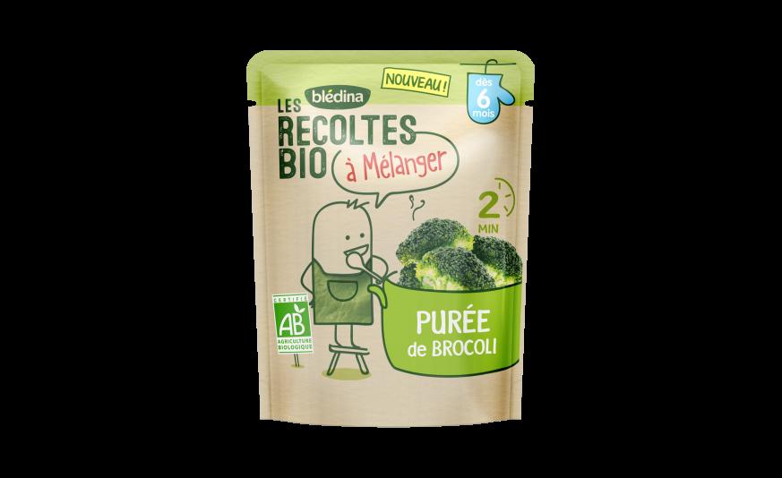 1 u Les Récoltes Bio à mélanger Purée de Brocoli