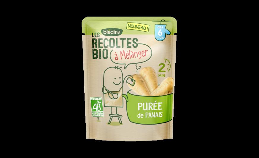 1 u Les Récoltes Bio à mélanger Purée de panais