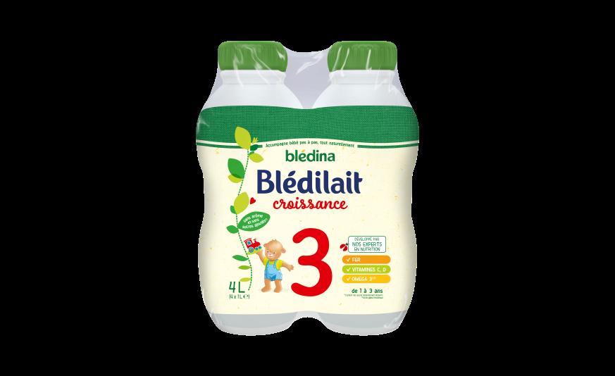 20 cl Blédilait Croissance 1L x 4