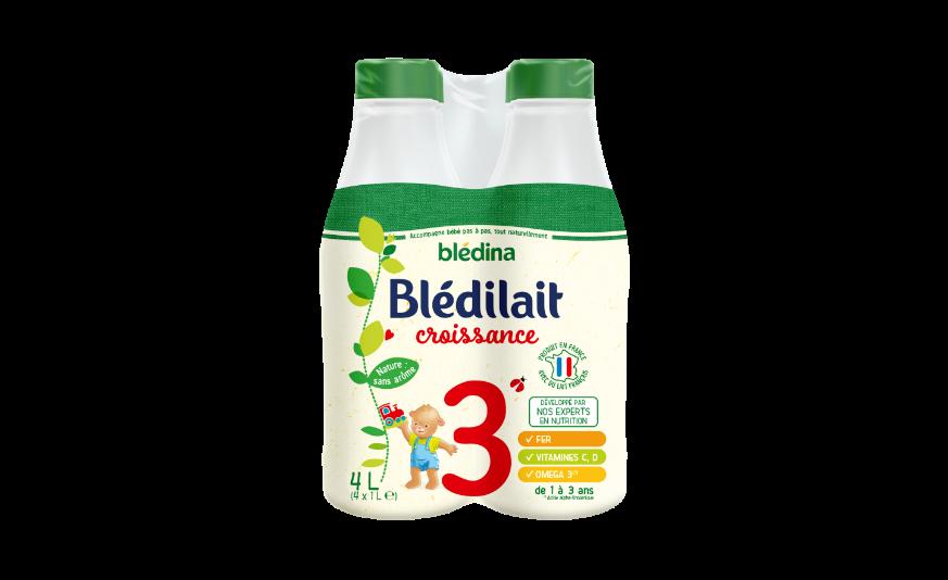 30 cl de Blédilait Croissance 1L x 4